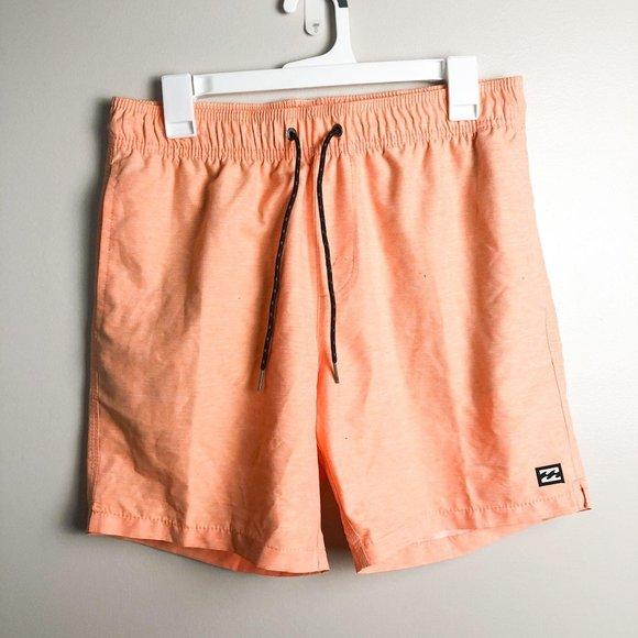 Billabong Classic Orange Swim Board Shorts